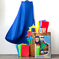 Design Your Own Super Hero Cape Kit
