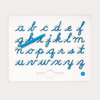 Cursive Magnatab - Lower Case