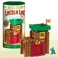Lincoln Logs - Fort Hudson