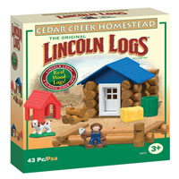 Lincoln Logs Cedar Creek Homestead