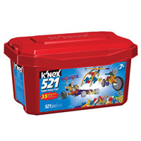 KNEX Super Value Tub - 521 pc