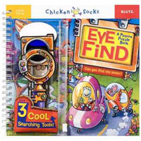 Chicken Socks Eye Find A Picture Puzzle Book