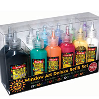 Klutz Window Art Deluxe Refill Set