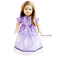 Doll Dress Amulet Princess