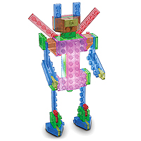 Laser Pegs 4 Models in 1 - Robot Series