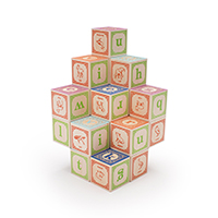 Uncle Goose Blocks - Classic Lowercase ABC