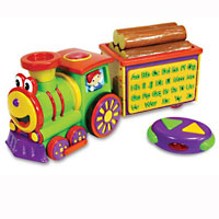 Alphabet Express RC Train