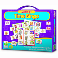 Match It! Bingo - Time