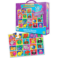 Jumbo Floor Puzzle - Colors and Shapes