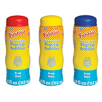 Squeeze n Blow Pop-Up Bubbles