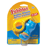 Fubbles No-Spill Bubble Whistle