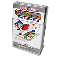 Design Tile Magnet Set Peel & Stick - 32 pc