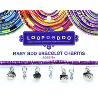 Easy Add Bracelet Charm - Laugh Sing Live Play