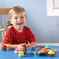 Smart Snacks Shape Sorting Cupcakes