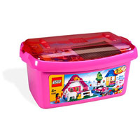 Lego Pink Brick Large Box