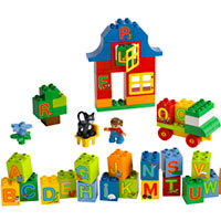 LEGO Duplo Play with Letters