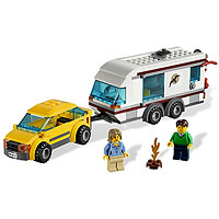 LEGO City Town - Car & Caravan