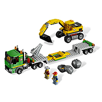 LEGO City Mining Excavator Transport