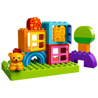 LEGO DUPLO Creative Play - Toddler Build and Play Cubes