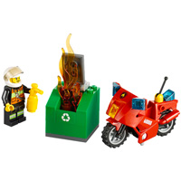 LEGO City Fire - Fire Motorcycle