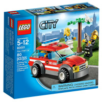 LEGO City Fire - Fire Chief Car