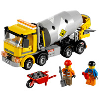 LEGO City Town - Cement Mixer