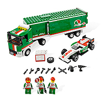 LEGO City Town - Grand Prix Truck