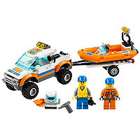LEGO City  Coast Guard - 4x4 & Diving Boat
