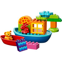 Duplo Creative Play - Toddler Build and Boat Fun