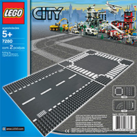 LEGO City Supplementary - Straight & Crossroad