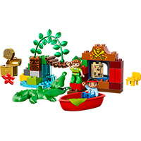 LEGO DUPLO Jake and the Never Land Pirates - Peter Pan's Visit