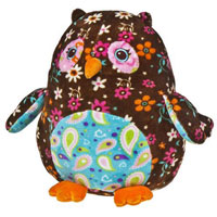 Roly Cocoa Owl - 13 inch