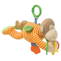 Mango Monkey Activity Toy