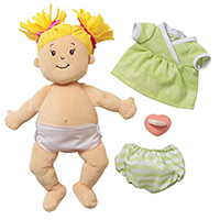 Baby Stella Doll with Pigtails