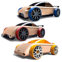 Mini Automoblox Combo Pack 3