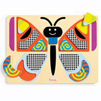Parents Bright Shapes Butterfly Puzzle