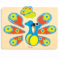 Parents Perfect Peacock Puzzle