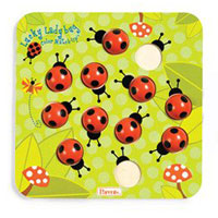 Parents Lucky Ladybug Color Match-Up