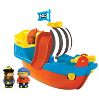 Parents Ahoy Matey Bath Time Ship