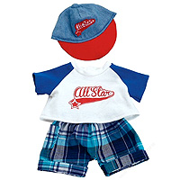 Baby Stella Brother - Ball Park Fun Outfit