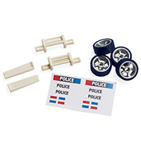Motorworks Vehicle Accessory Kit - Police Pursuit 1.0