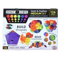 Space Chips Medium Set - 126 pc.
