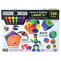 Space Chips Large Set - 288 pc.