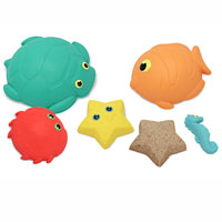Seaside Sidekicks Sand-Molding Set