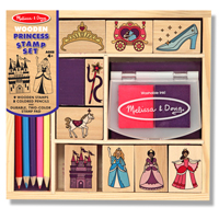 Princess Wooden Stamp Set