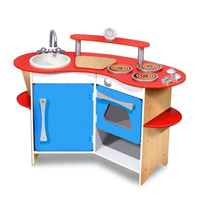 Cook's Corner Wooden Kitchen