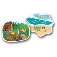 Trunki Sticker Pack - Destinations