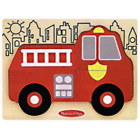 My First Chunky Puzzle - Fire Truck