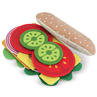 Felt Food - Sandwich Set