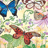 Butterfly Bliss Floor Puzzle (100pc)
